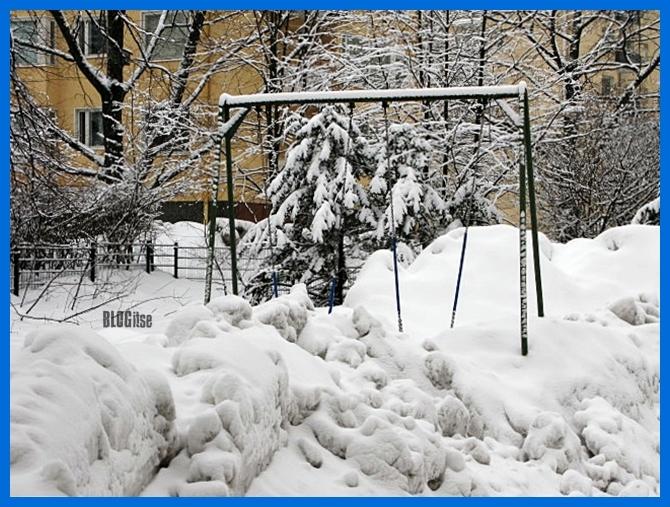 snow in Helsinki by BLOGitse