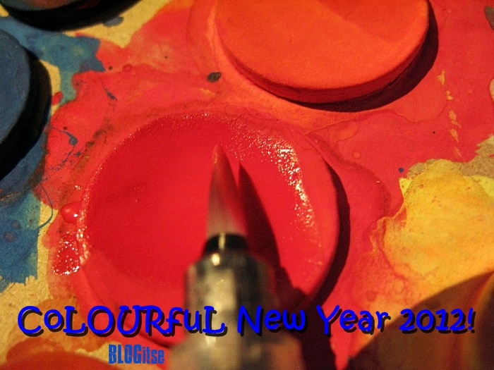 CoLourFul New Year 2012 by BLOGitse