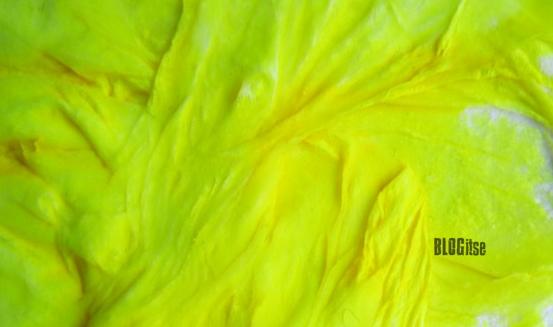 eri keeper, paper, yellow acrylic by BLOGitse