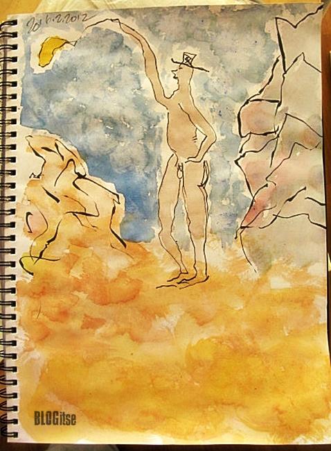 naked man by BLOGitse