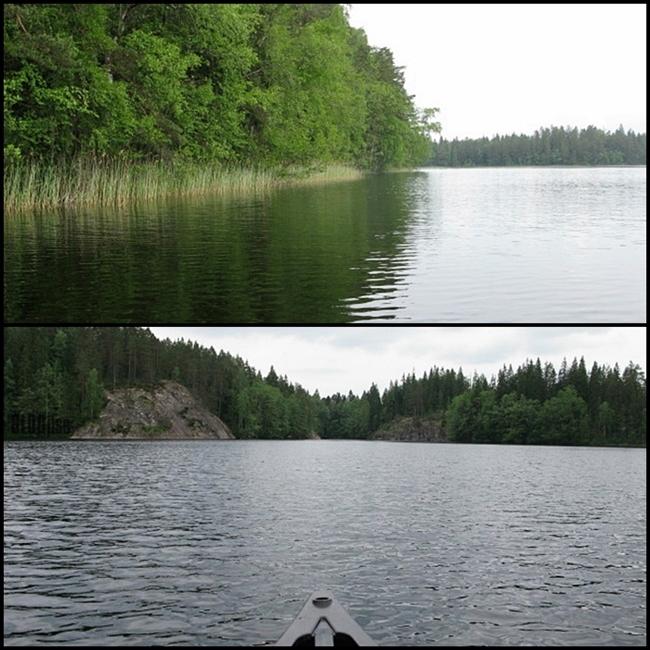 canoeing in Nuuksio by BLOGitse