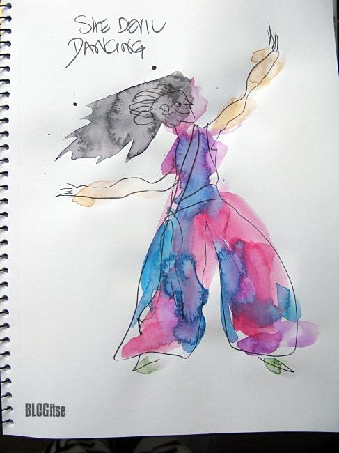 dancing she devil by BLOGitse