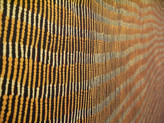 detail 1 of Yukultji Napangati painting by BLOGitse