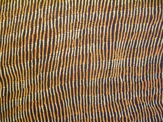 detail 2 of Yukultji Napangati painting by BLOGitse