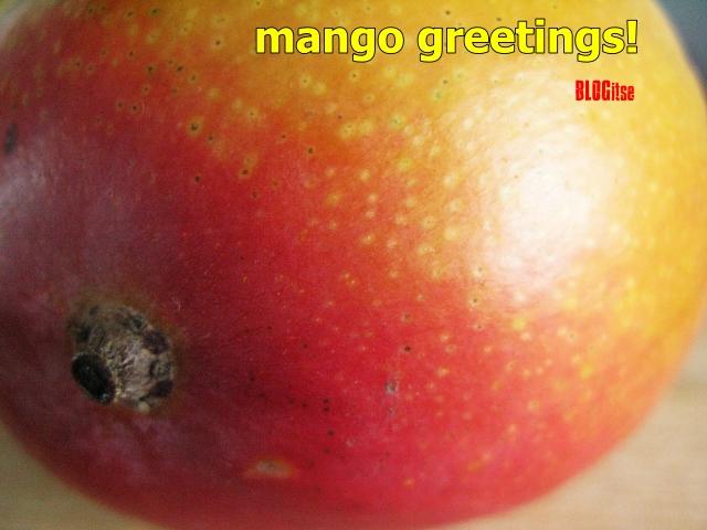 mango greetings by BLOGitse