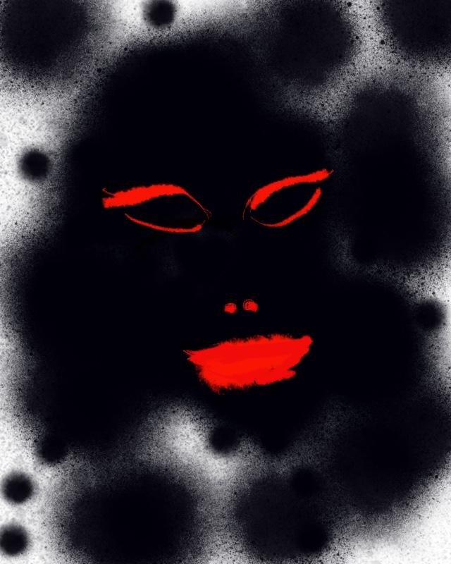 naamio mask 1/6 by BLOGitse