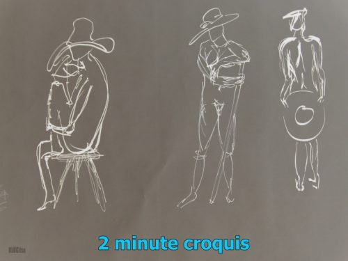 2 minute croquis by BLOGitse