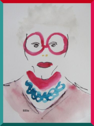 inspiration of Iris Apfel by BLOGitse