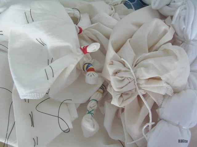 shibori stitching folding by BLOGitse