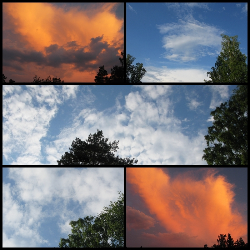 sky collage by BLOGitse