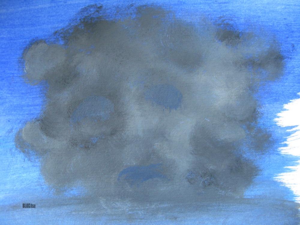 sad cloud by BLOGitse