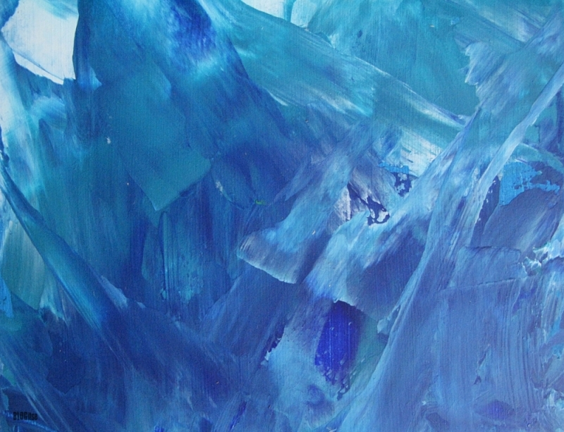 blue abstract detail_1 by BLOGitse
