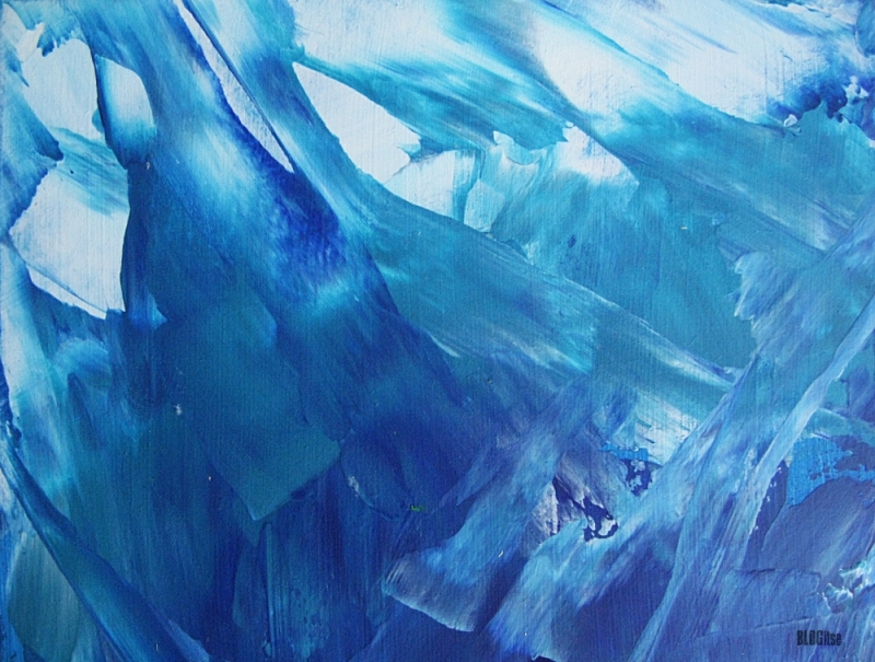 blue abstract detail_2 by BLOGitse