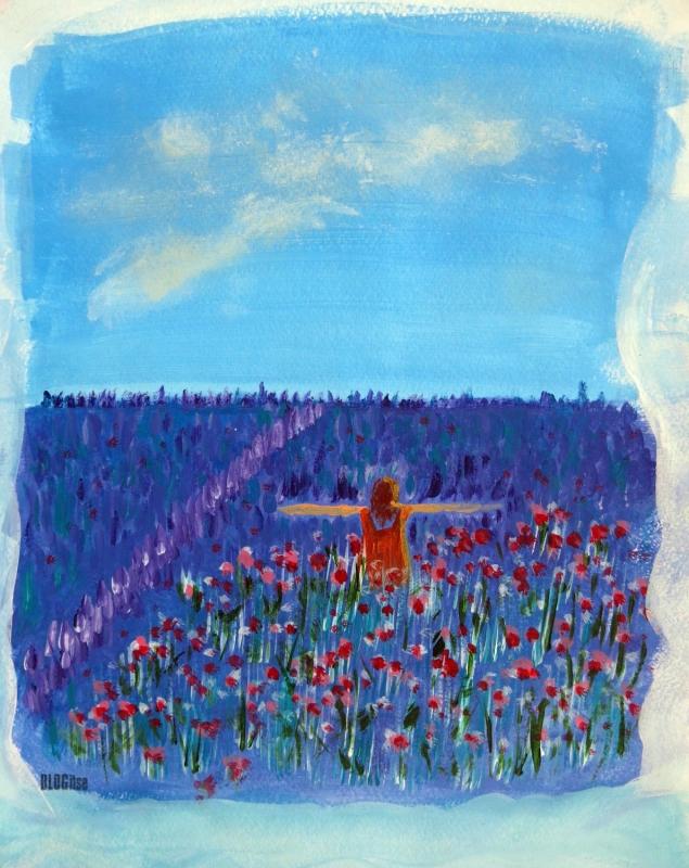 lavender field by BLOGitse