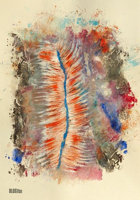 acrylic mess by BLOGitse