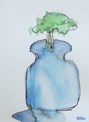 a tree in a glass jar by BLOGitse