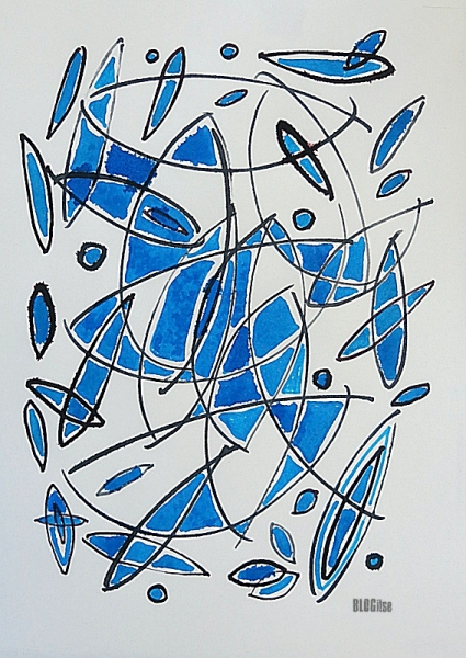 abstract ink w.color by BLOGitse