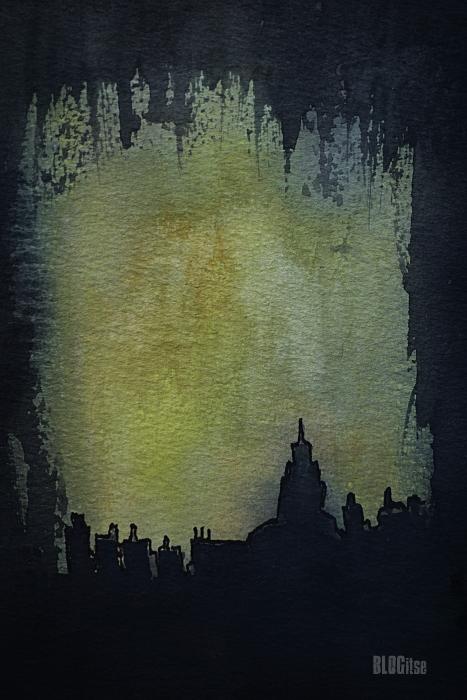 city skyline by BLOGitse