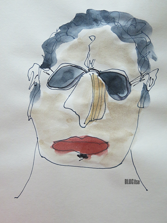 red lips by BLOGitse